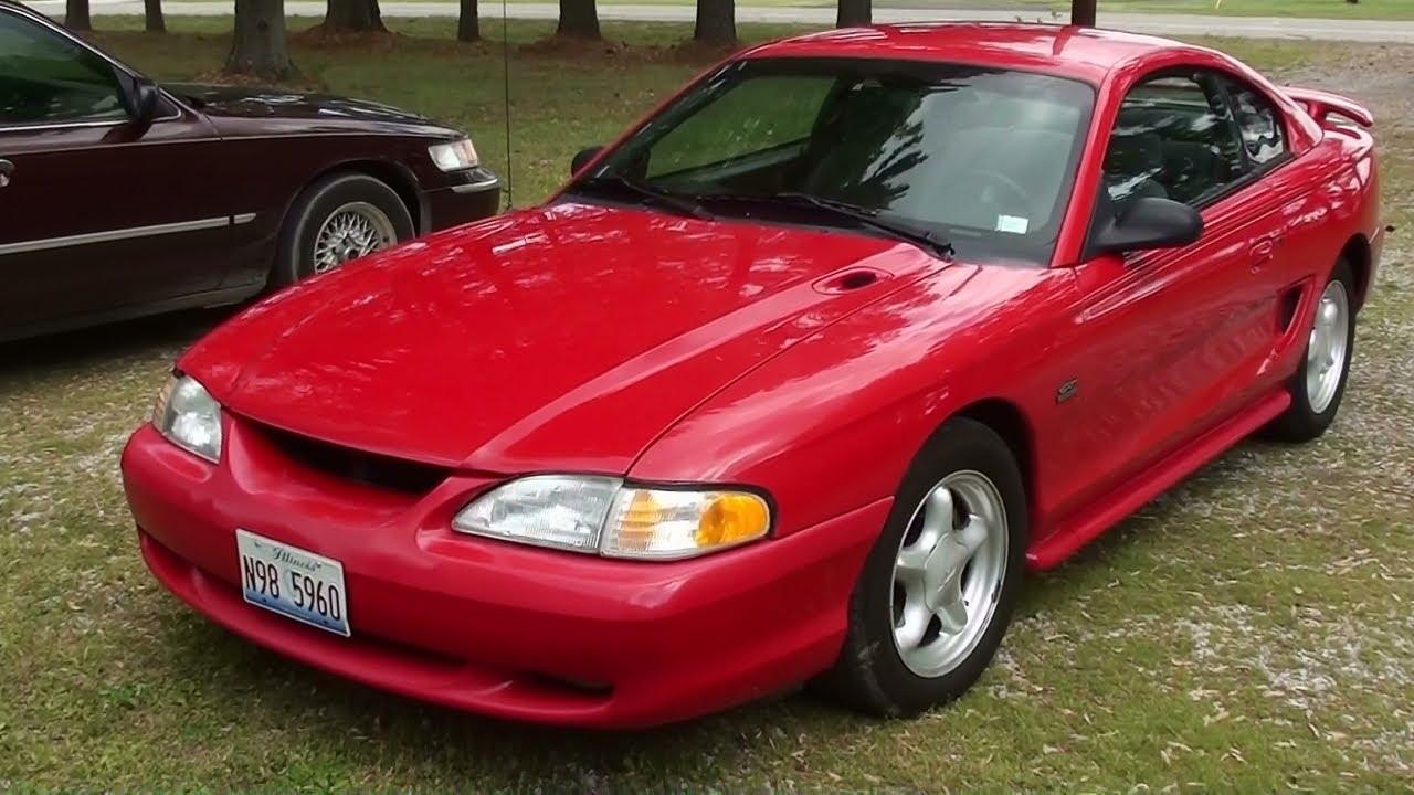 Driving 1994 mustang gt 302 v8 five speed bbk edelbrock msd youtube