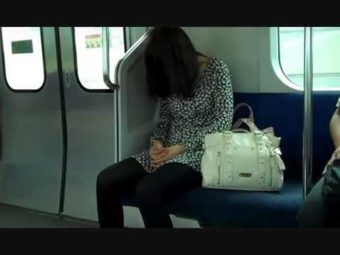 Зомби в метро (прикол) -