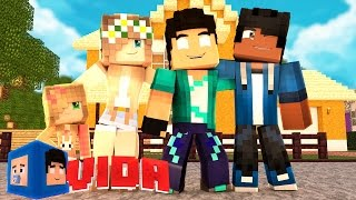 Minecraft : FAMÍLIA UNIDA DE NOVO !! #100 (MINECRAFT VIDA )