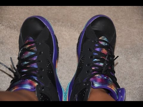 newest 67d7d 2e53c On Feet: Jordan Retro 7 LOLA GS