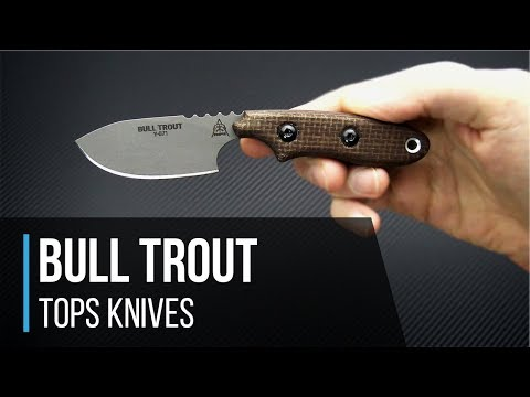 TOPS Knives Bull Trout 154cm EDC Fixed Blade Overview