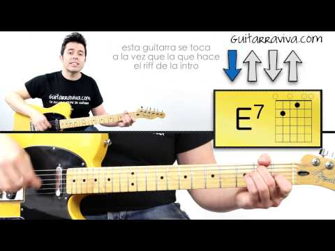 Tocar Acordes Day Tripper - The Beatles en guitarra eléctrica o acústica tutorial