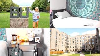 ✿Dorm Room Tour - Fairview House Butler University✿