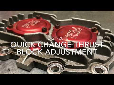 Quick Change Adjustment Block