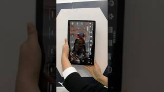 klyde 12 8inch PX6 Android 8 1 100 degree rotation Android