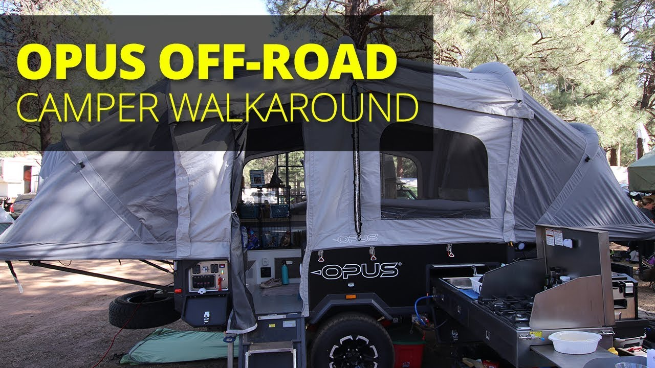 Opus Off Road Popup Camper Overland Expo West Youtube
