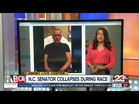 North Carolina Senator Collapses but is okay