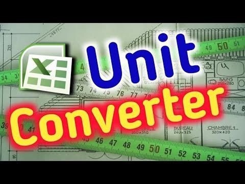 Excel unit conversion Chart list   Excel-3