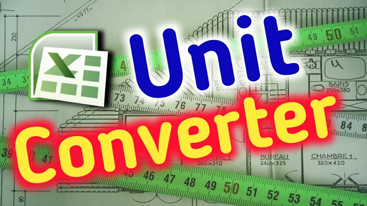 Excel Unit Conversion Chart List Youtube