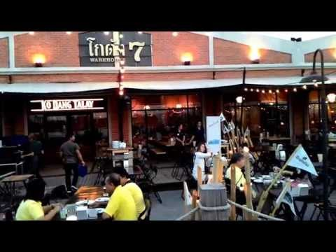 Asiatique The Riverfront: open-air mall in Bangkok, Thailand