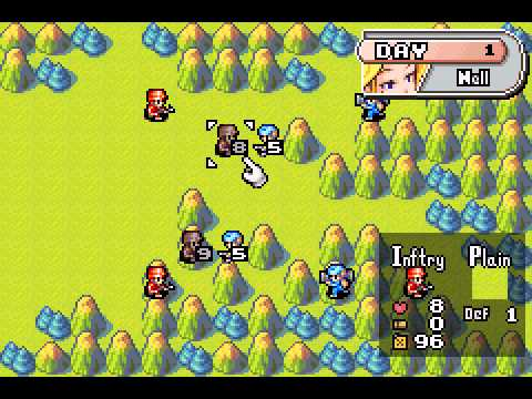 Advance Wars Gba Vizzed Com Gameplay Youtube