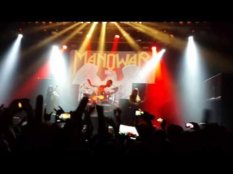 Manowar. Intro. Israel 2014
