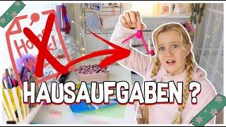 HAUSAUFGABEN STRESS - MAVIELENDER 17 | MaVie Noelle Family Vlogmas