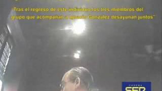Trama de espionaje PePera: Grabación de Ignacio González  en Colombia