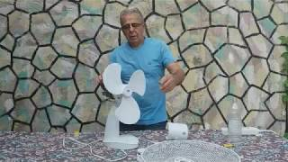 How to fix a table fan - Βλάβη σε ανεμιστήρα