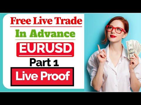 Live Forex Trade Sell Eurusd