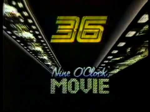 WATL-TV 36 Atlanta, station id & movie open (1986)
