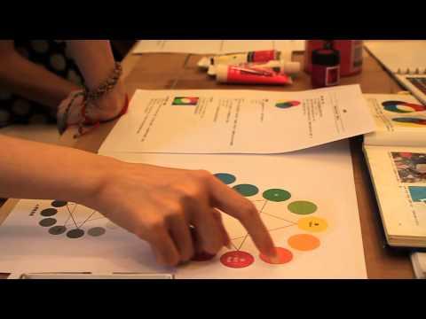 張琹插畫學堂 - 課堂教學示範 - 色彩學 - 8