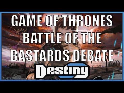 "Game of Thrones - ""Battle of the Bastards"" skype debate"