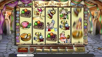 Free Royal Banquet slot machine by Saucify gameplay ★ SlotsUp