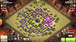 Clash of Clans Indonesia SARUNG BODOL (COC) - Attack TH 9 with Lava and Balloons 3 STARS #160