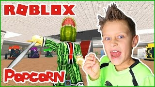 Popcorn For The Win!!! / Roblox Ninja Warrior Tycoon!