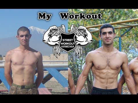 Workout Motivation / Artur Harutyunyan (Street Workout Armenia)