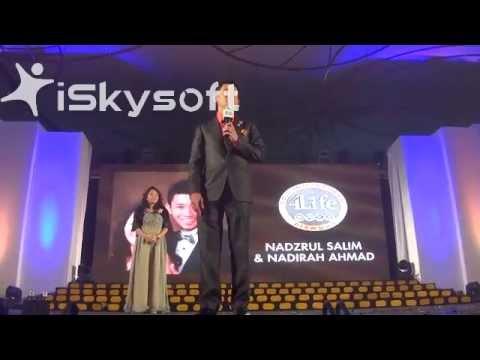 Nadzrul Salim & Nadirah Ahmad Gold International Diamond Recognition.