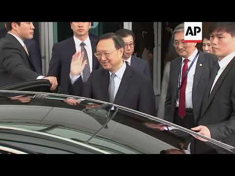 Chinese official arrives in Incheon to brief government on NKorean leader's visit