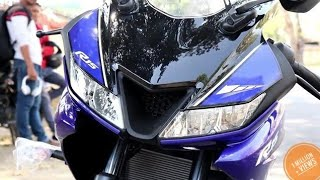 YAMAHA R15 V3.0 New FULL REVIEW , 6:13 min PRICE , FEATURES , TEST RIDE , MILAGE etc