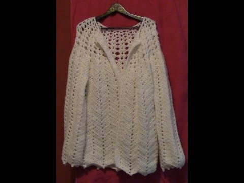 Haken Tutorial 46 Dames Vest Youtube