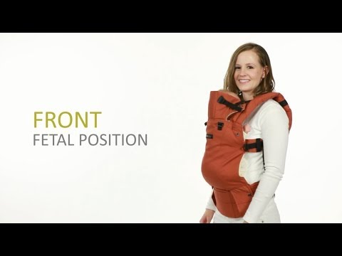 Lillebaby COMPLETE Baby Carrier - Fetal Position Carry Instructions