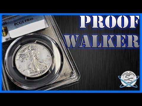 PROOF Walking Liberty Half Dollar!