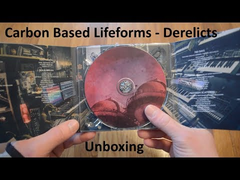 Unboxing Carbon Based Lifeforms - Derelicts CD Digipak