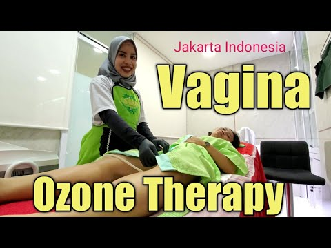 $35 OZONE THERAPY on my WHAT?! Jakarta Indonesia 🇮🇩 4K