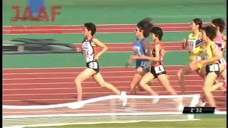 第95回日本陸上競技選手権大会 女子 1500m 決勝 福田有以 検索動画 5