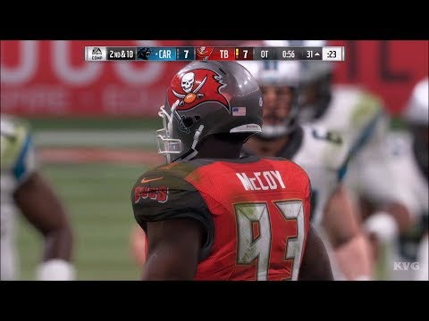 Madden NFL 18 - Tampa Bay Buccaneers vs Carolina Panthers -