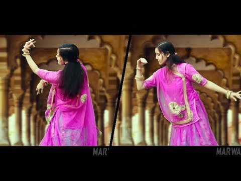 RAJASTHANI GHOOMAR DANCE ON DHORE MATHE JHUPADI || MAMTA BAISA Feat. AJIT SINGH