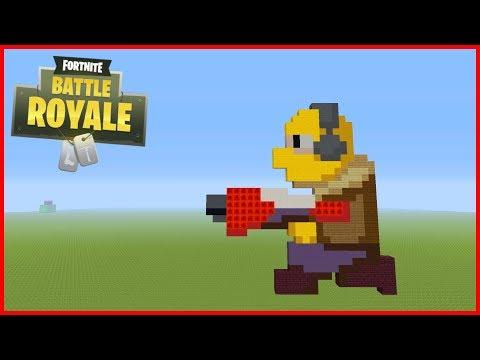 Dessin Fortnite Pixel Art Escapadeslegendes Fr