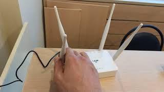 Wifi Роутер с 4мя антеннами и Модем 4G