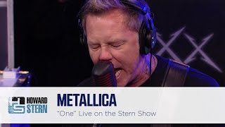 "Metallica ""One"" on the Howard Stern Show (2013)"