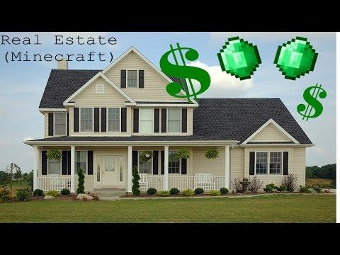 Buy Houses in Vanilla Minecraft (ECONOMY)