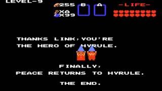 [GBA] Classic NES Series - The Legend of Zelda Ending