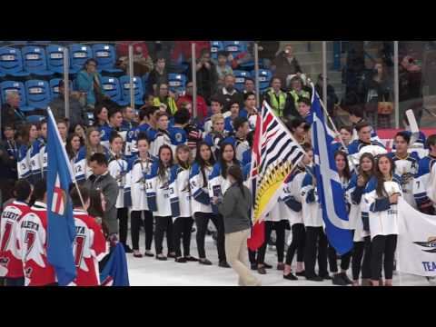 2017 National Aboriginal Hockey Championships Opening Ceremonies
