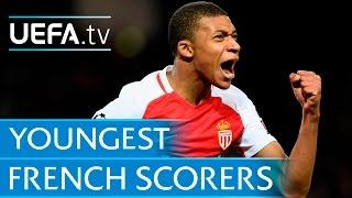 Kylian Mbappé, Ousmane Dembélé: 10 youngest French scorers