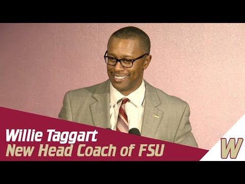 Warchant TV: Willie Taggart introduced as Florida State Head
