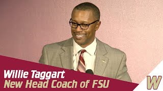 Warchant TV: Willie Taggart introduced as Florida State Head Coach