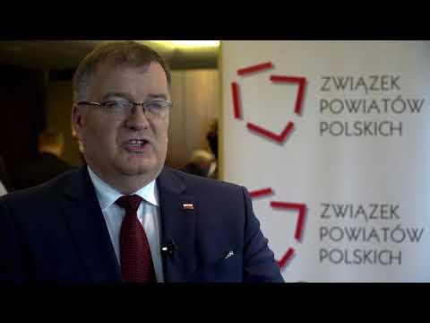 Sekretarz Stanu Andrzej Dera podczas XXIV Zgromadzenia Ogólnego ZPP