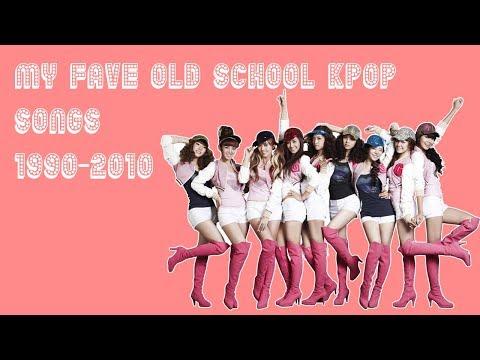My Fave Old School Kpop Songs (1990-2010)