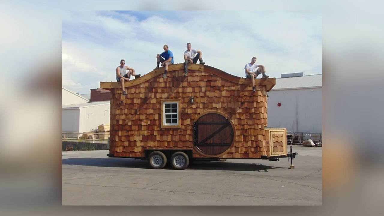 incredible tiny homes the hobbit house on wheels - House On Wheels